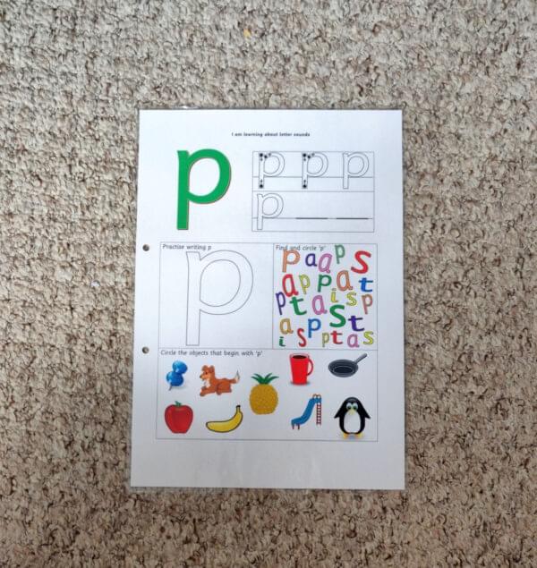 Personalised phonics file - phase 2